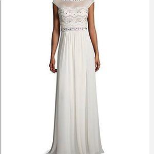 Dresses & Skirts - Lotus Thread- Ivory floor-length Dress